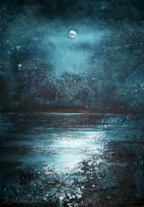 Stewart Edmondson - Full Moon From the Daymark