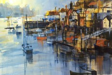 Chris Forsey - First rays, Fowey