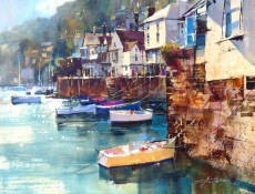 Chris Forsey RI Bayards Cove from the Ferry Slip