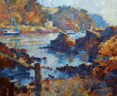 Chris Forsey Beyond The Castle, Dartmouth 20x24