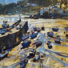 Chris Forsey harbour light st.ives