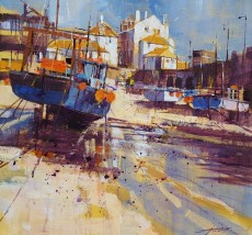 Chris Forsey - reflections and shadows st.ives