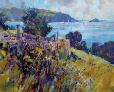 Chris Forsey Out to the ocean, Little Dartmouth 20x24