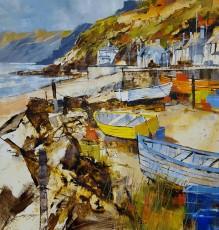 Chris Forsey Summer colour, Beesands 16x16