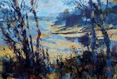 Chris Forsey - Summer morning, Mill Bay 24x30