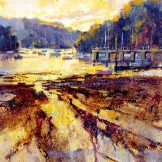 Chris Forsey - Golden morning - Dittsham 1095 51x51