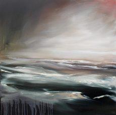 Alex Moore - 'Into the Depths' 60cm x 60cm oil on canvas - £595