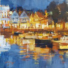 Light reflections, Dartmouth 30x30