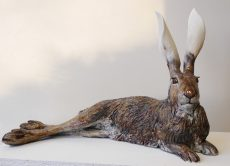 Nick Mackman Hare Lying Down