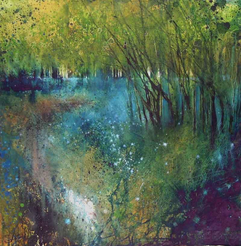 Stewart Edmondson Bluebells Shine like stars in the woods