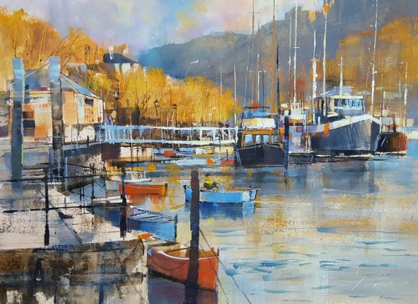 Chris Forsey - Dartmouth Autumn 20x16