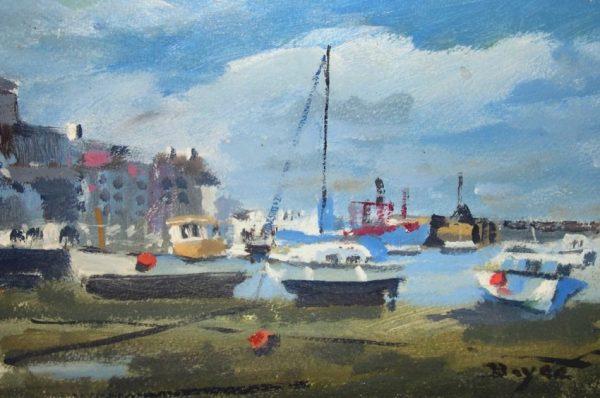 John Boyce - Three red bouys