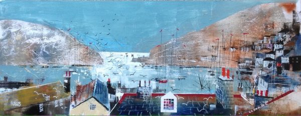Nagib Karsan - Over the rooftops and out to sea, Dartmouth