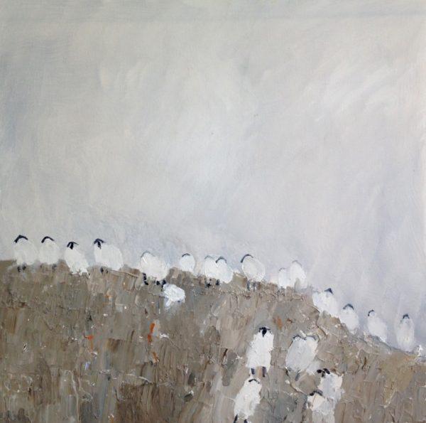 David Wheeler - Misty morning on the moors