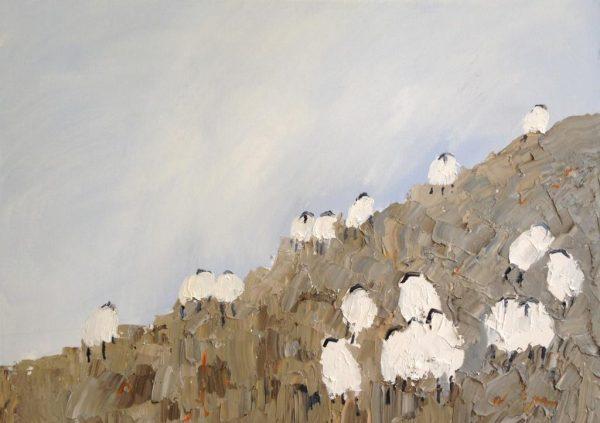 David Wheeler - Spring morning 70x50
