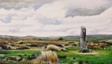 Standing stone Dartmoor - Marc Farrell
