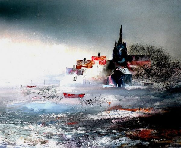 Colin Kent - Coastal Haven 40x49 1500