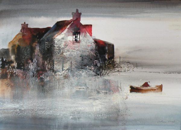 Colin Kent - Riverside dwelling 32x44 1200