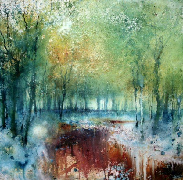 Stewart Edmondson - Amongst the Glory (89 x 90cm)_1