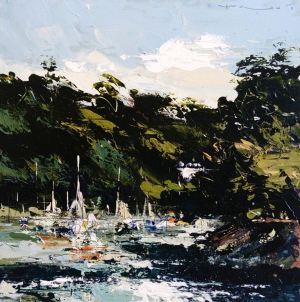 Chris Prout - Morning light on the Dart 30X30 1100