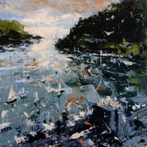 Chris Prout Seagull parade 30X30 1100