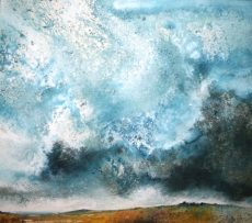 Stewart Edmondson - above-widecombe-vale-78-x-88cm 2350