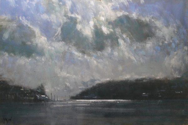 robin-mason-clouds-above-dartmouth-76x51cm-1395