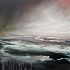 Alex Moore - 'Into the Depths' 60cm x 60cm oil on canvas - £595