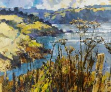 April sunshine, little Dartmouth, 50x60