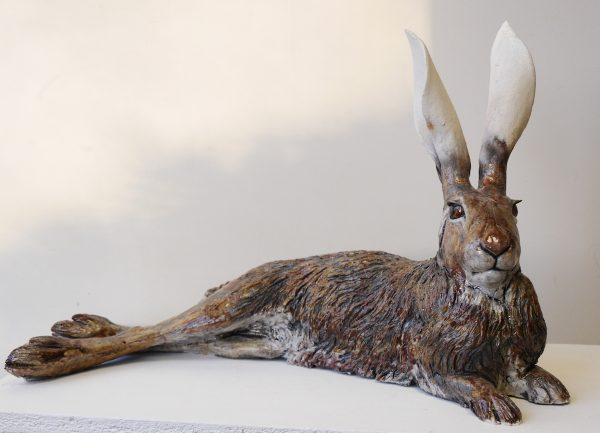 Nick Mackman Hare Lying Down