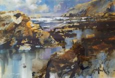 Chris Forsey - Rocks Cliff and Surf