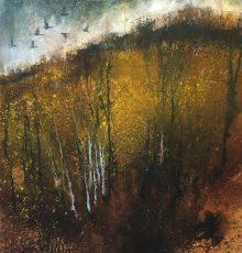 Stewart Edmondson - Where the silver birch stand 70x71