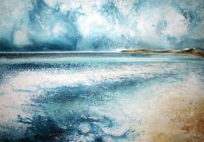 To Start Point (Above Blackpool Sands) (57 x 81cm) Stewart Edmondson