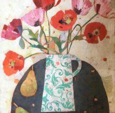 7.Marys Poppies 24 x24 in £785