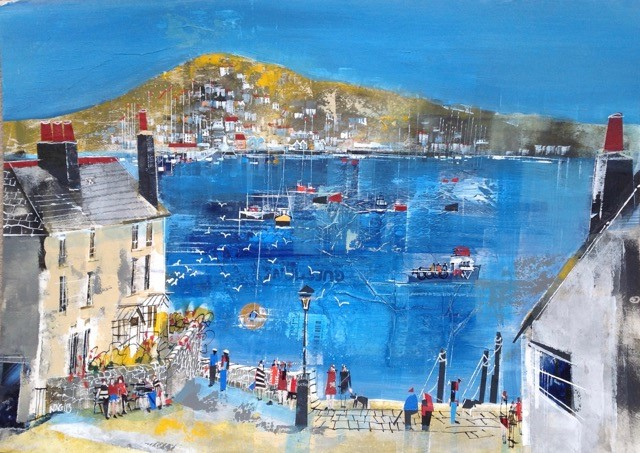 Bayards Cove & the Dart Estuary, size 23.5 x 16.5, £795