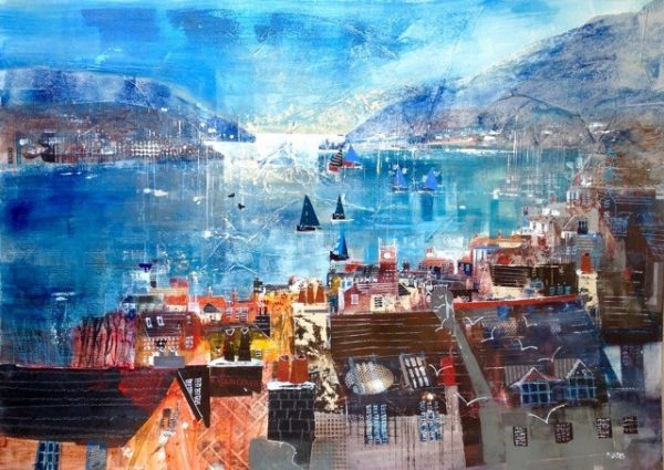 Dartmouth panorama, size 33 x 23.5, £1200