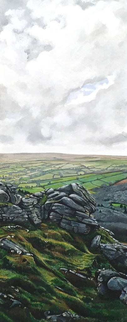 Rock view, Near Haytor - Marc Farrell