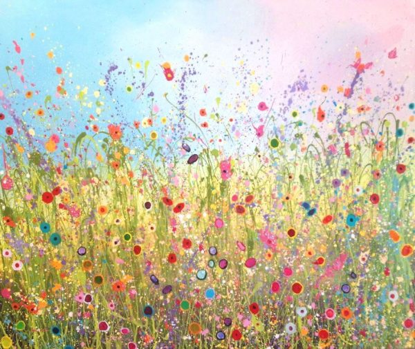Yvonne coomber - I love you with allof my heart 140 x 120