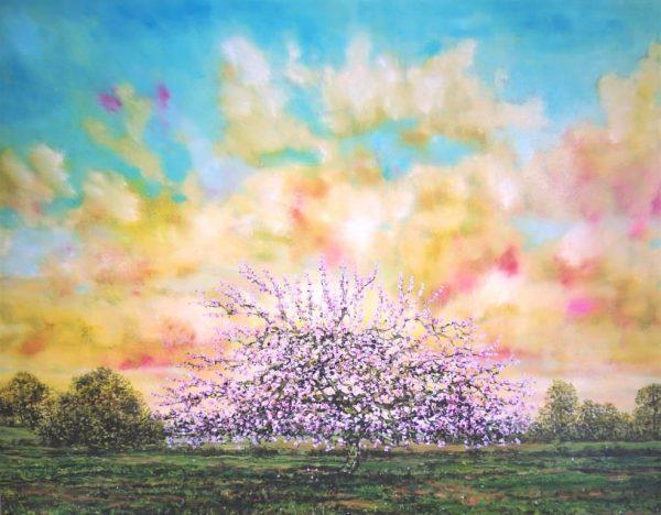 Auroroa, Oil on Panel, 65cm x 45cm.£950