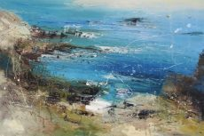 Fish tail cove by CLaire Wiltsher(90x60cm)
