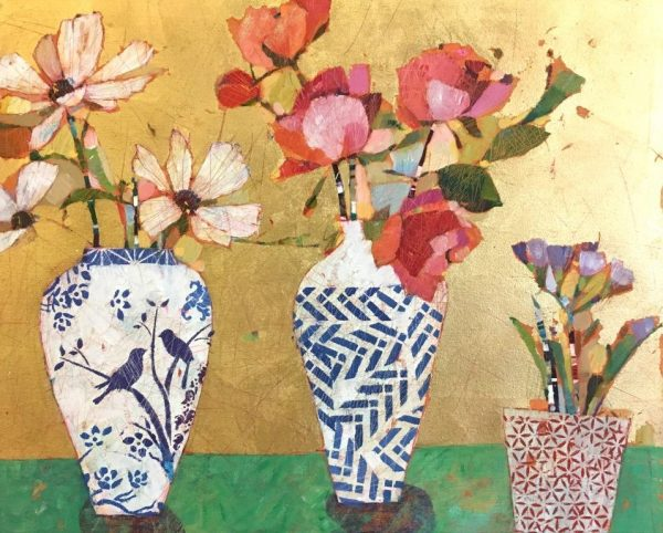 Sally Anne Fitter - Three Vases 895