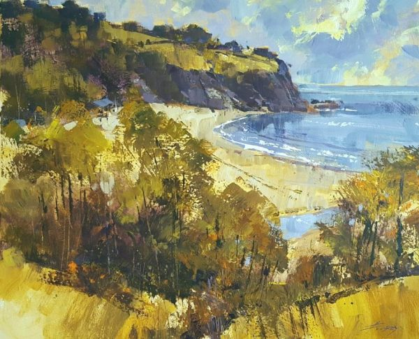 Chris Frosey Spring colour, Blackpool Sands. £1295