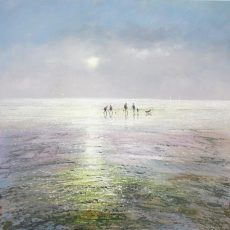 Seamist - Morning Mist Michael Sanders 90 x 90 cm deep edge canvas unframed £1450 low res