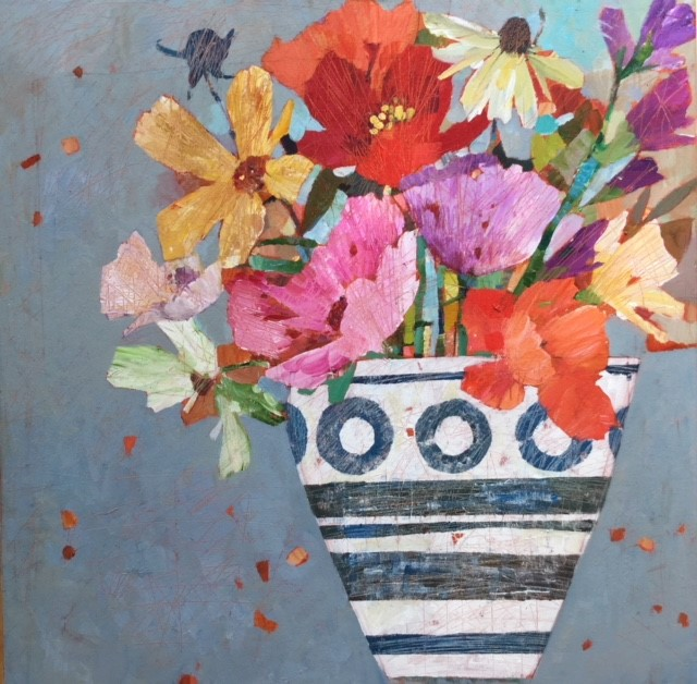 1 Time for Flowers 76 x76 cms £995