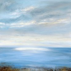 Evening Sky over the Bay....90 x 90cm ....oil on canvas ....£3,495.00