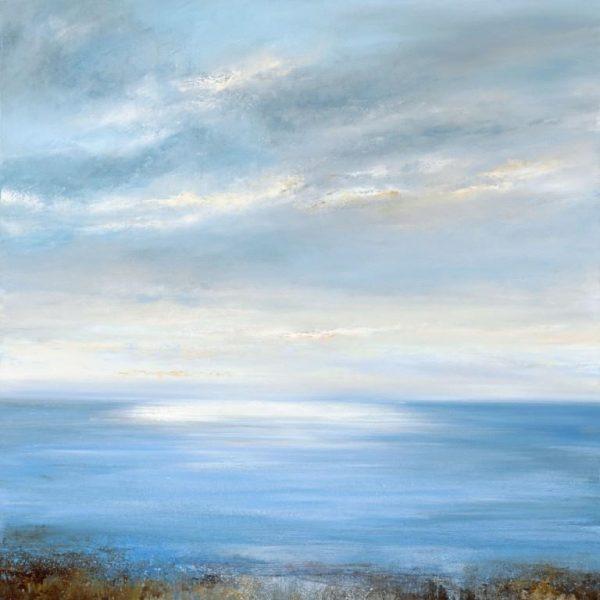 Evening Sky over the Bay....90 x 90cm ....oil on canvas ....£3,495.00