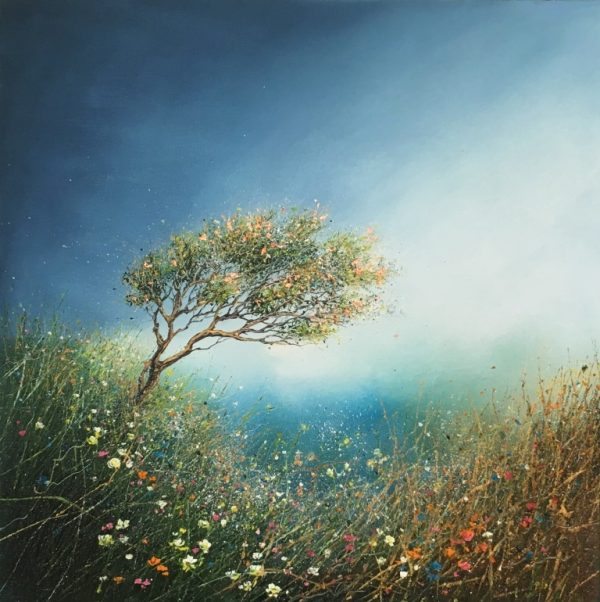 Kate Richardson - Forever Spring 40x40