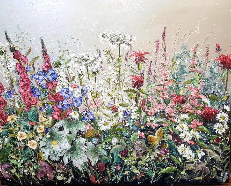 Marie Mills - 100 x 80cm 'Gardeners Treasure