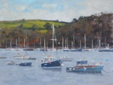 'Dartmouth harbour' Oil 30x40cm £525