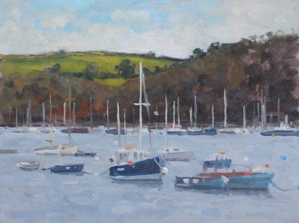 'Dartmouth harbour' Oil 30x40cm £525